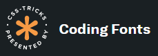 Coding Fonts by css-tricks.com